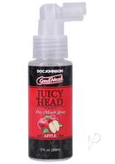 Goodhead Wet Head Dry Mouth Spray Juicy Apple 2oz